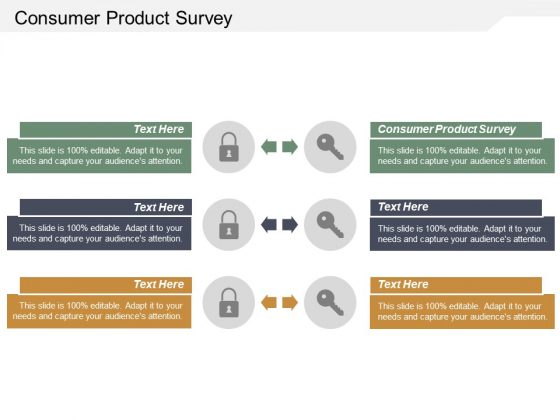 Consumer Product Survey Ppt PowerPoint Presentation Slides Structure Cpb