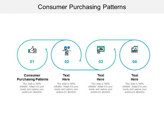 Consumer Purchasing Patterns Ppt PowerPoint Presentation Model Layouts Cpb