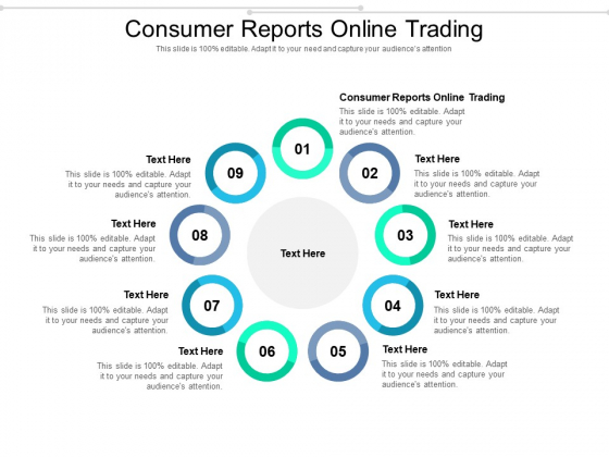 Consumer Reports Online Trading Ppt PowerPoint Presentation Layouts Objects Cpb Pdf