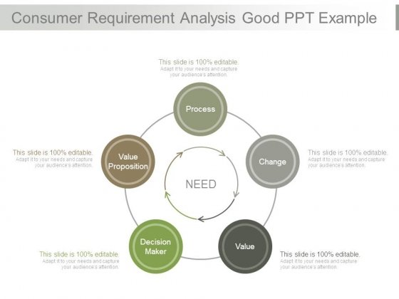 Consumer Requirement Analysis Good Ppt Example