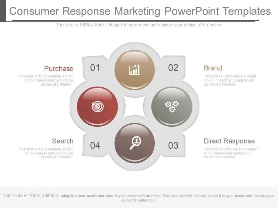 Consumer Response Marketing Powerpoint Templates