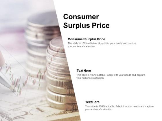 Consumer Surplus Price Ppt PowerPoint Presentation Outline Slides Cpb Pdf