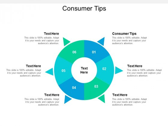 Consumer Tips Ppt PowerPoint Presentation Infographics Images Cpb