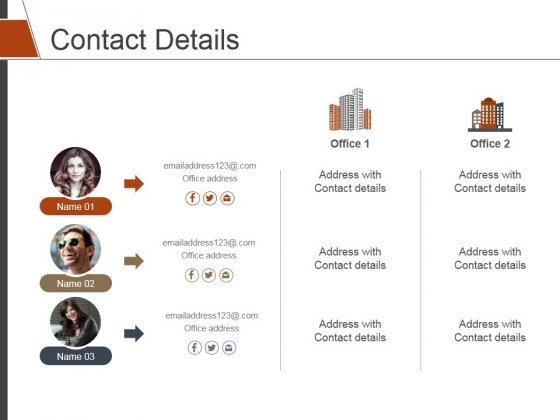 Contact Details Ppt PowerPoint Presentation Rules