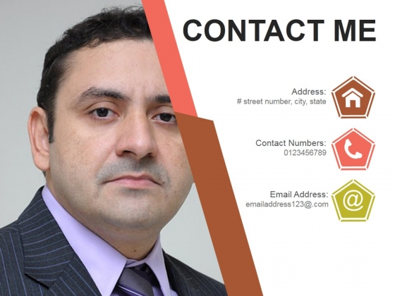 Contact Me Ppt PowerPoint Presentation Deck