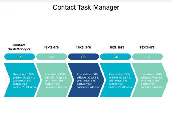 Contact Task Manager Ppt PowerPoint Presentation Show Files Cpb