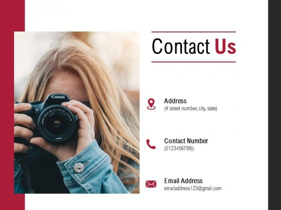 Contact Us Communication Ppt PowerPoint Presentation Deck