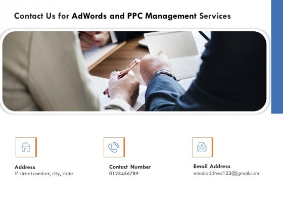 Contact Us For Adwords And PPC Management Services Elements PDF