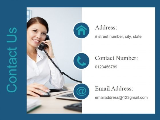 Contact Us Ppt PowerPoint Presentation Deck