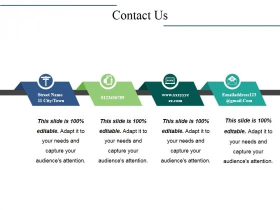Contact Us Ppt PowerPoint Presentation File Background Designs
