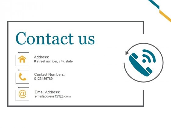 Contact Us Ppt PowerPoint Presentation Good