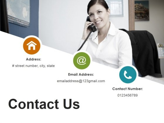 Contact Us Ppt Powerpoint Presentation Icon Deck