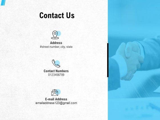 Contact Us Ppt PowerPoint Presentation Model Maker