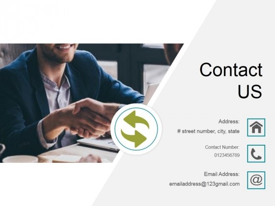 Contact Us Ppt PowerPoint Presentation Slide