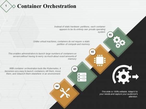 Container Orchestration Ppt PowerPoint Presentation Model Slides