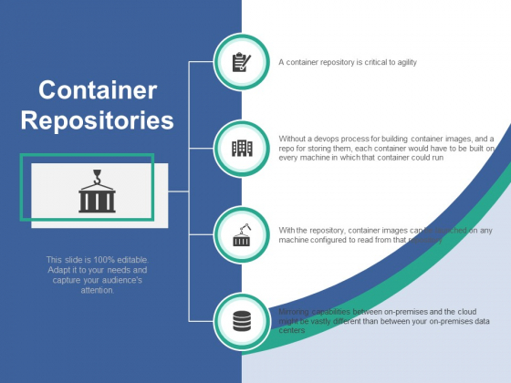 Container Repositories Ppt PowerPoint Presentation Layouts Outfit