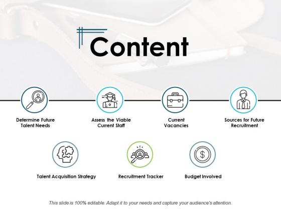 Content Current Vacancies Ppt PowerPoint Presentation Slide Download