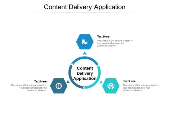 Content Delivery Application Ppt PowerPoint Presentation Ideas Graphics Tutorials Cpb
