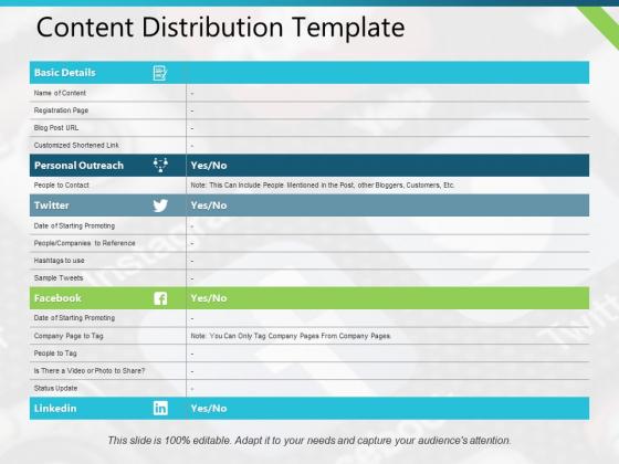 Content Distribution Basic Details Ppt PowerPoint Presentation Summary Slides