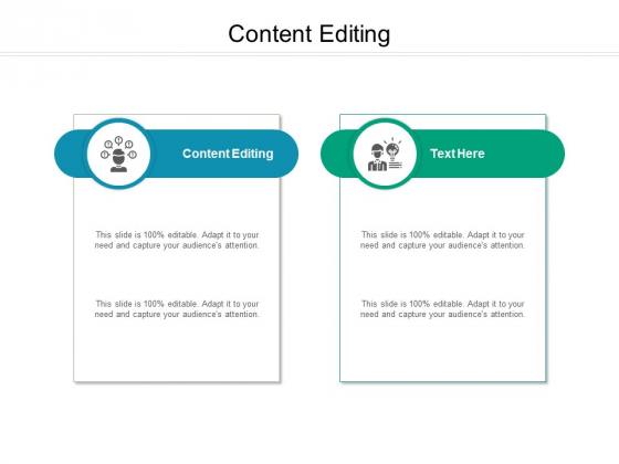 Content Editing Ppt PowerPoint Presentation Show Influencers Cpb Pdf