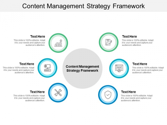 Content Management Strategy Framework Ppt PowerPoint Presentation Professional Graphics Pictures Cpb