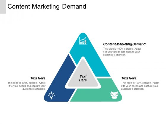 Content Marketing Demand Ppt PowerPoint Presentation Icon Cpb