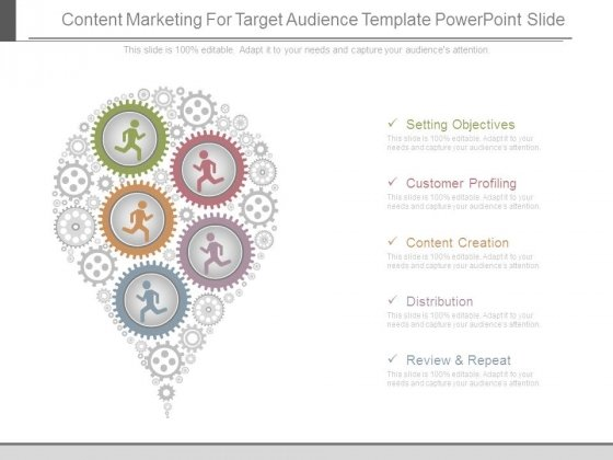 Content Marketing For Target Audience Template Powerpoint Slide