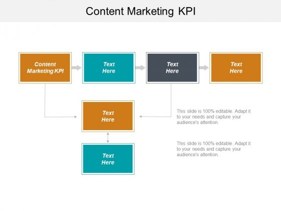 Content Marketing KPI Ppt PowerPoint Presentation Ideas Design Inspiration Cpb
