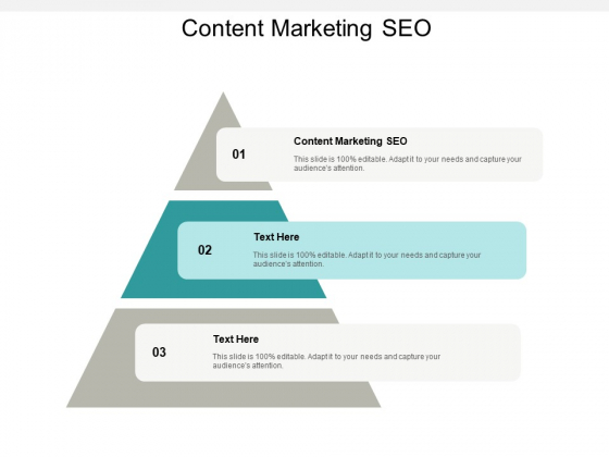 Content Marketing SEO Ppt PowerPoint Presentation Infographics Graphics Cpb