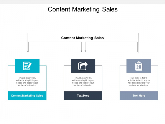 Content Marketing Sales Ppt PowerPoint Presentation Gallery Pictures Cpb