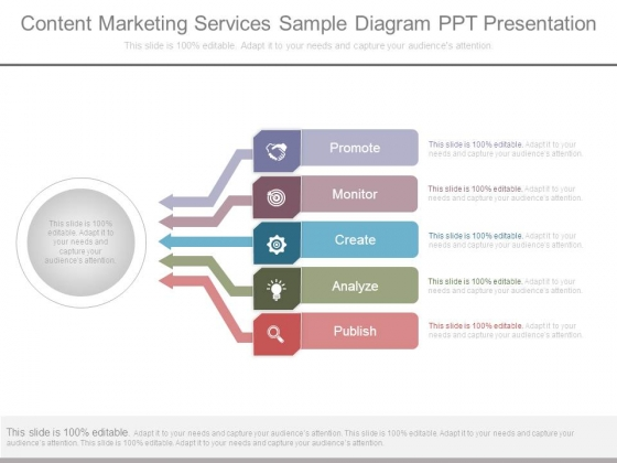 Content Marketing Services Sample Diagram Ppt Presentation