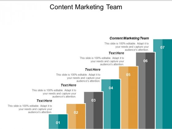 Content Marketing Team Ppt PowerPoint Presentation Model Gridlines Cpb