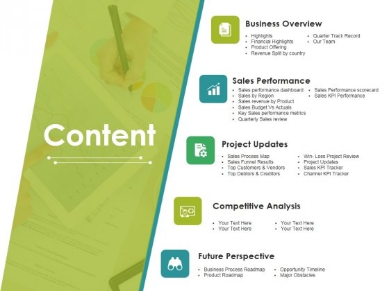 Content Ppt PowerPoint Presentation Infographics