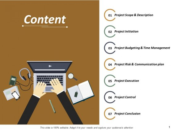 Content Project Conclusion Ppt PowerPoint Presentation Show Example