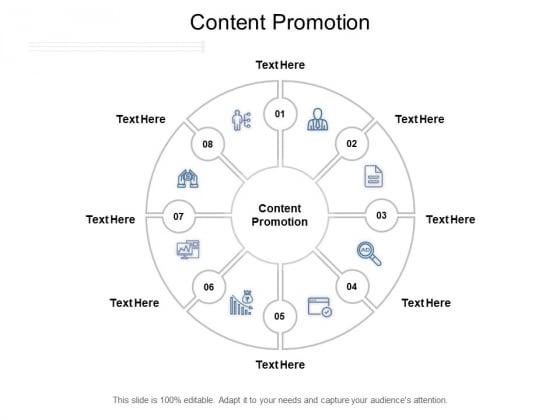 Content Promotion Ppt PowerPoint Presentation Pictures Brochure Cpb Pdf