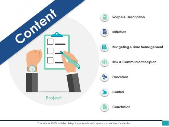 Content Slide Ppt PowerPoint Presentation Slides Portfolio