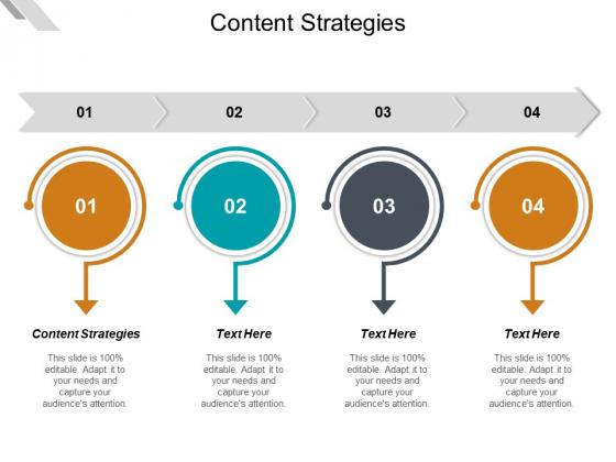 Content Strategies Ppt PowerPoint Presentation Professional Portfolio