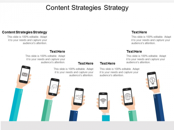 Content Strategies Strategy Ppt PowerPoint Presentation Summary Aids Cpb