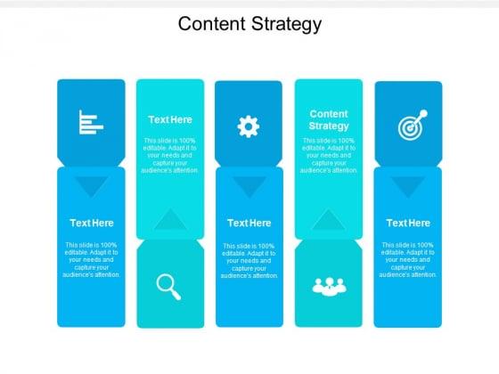 Content Strategy Ppt PowerPoint Presentation Portfolio Files Cpb