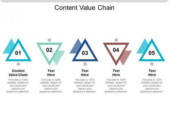 Content Value Chain Ppt Powerpoint Presentation Infographic Template Graphics Download Cpb