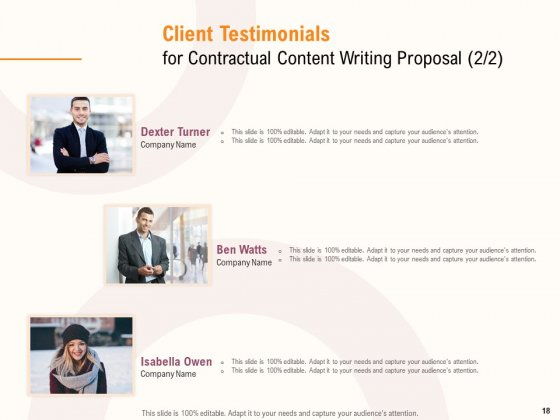 Content_Writer_Proposal_Template_Ppt_PowerPoint_Presentation_Complete_Deck_With_Slides_Slide_18