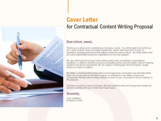 Content_Writer_Proposal_Template_Ppt_PowerPoint_Presentation_Complete_Deck_With_Slides_Slide_2