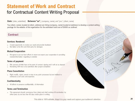 Content_Writer_Proposal_Template_Ppt_PowerPoint_Presentation_Complete_Deck_With_Slides_Slide_20