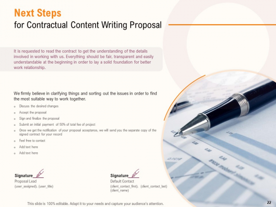 Content_Writer_Proposal_Template_Ppt_PowerPoint_Presentation_Complete_Deck_With_Slides_Slide_22