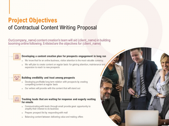 Content_Writer_Proposal_Template_Ppt_PowerPoint_Presentation_Complete_Deck_With_Slides_Slide_6