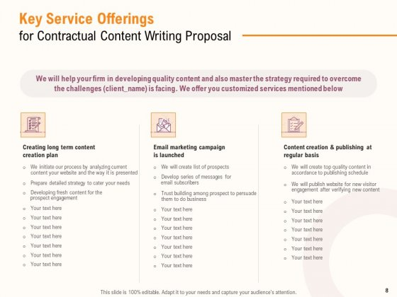 Content_Writer_Proposal_Template_Ppt_PowerPoint_Presentation_Complete_Deck_With_Slides_Slide_8