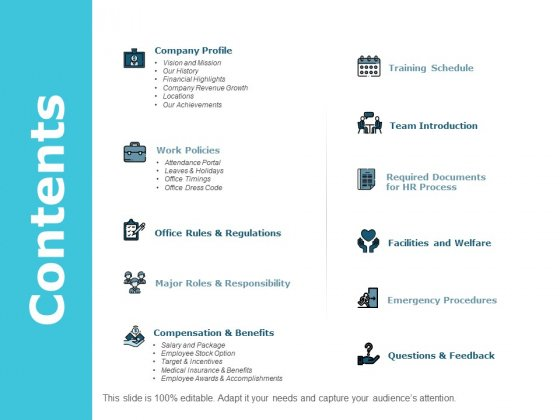 Contents Management Ppt PowerPoint Presentation Outline Themes
