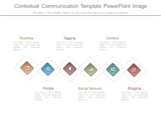 Contextual Communication Template Powerpoint Image