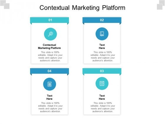 Contextual Marketing Platform Ppt PowerPoint Presentation Infographic Template Deck Cpb Pdf