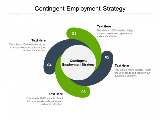 Contingent Employment Strategy Ppt PowerPoint Presentation Inspiration Graphics Design Cpb
